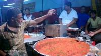 实拍印度阿三做大饼, 最后一种我服了
