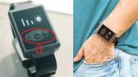 """手表""""空调"""", 冬天不用穿棉袄, 一键控制温度, 冷暖自己定"""