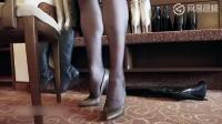美女丝袜搭配高跟鞋, 只有这双鞋搭配黑丝袜最性感