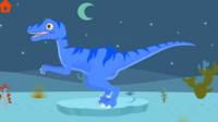 恐龙公园恐龙世界侏罗纪筱白解说恐龙游戏恐龙玩具汽车
