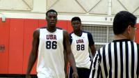美国男篮青训营被两个高中生统治! Zion Williamson&Emmitt Williams高光集锦