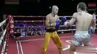 武僧一龙金钟罩护体, 遭对手狂殴10分钟不倒, 绝地反击1拳KO对手