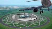 圆形的飞机跑道, 飞机降落如同过山车, 却能提高3倍效率!