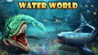 《侏罗纪世界恐龙第43期 邓氏鱼VS巨齿鲨》儿童游戏 糯米解说