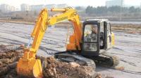 挖掘机 挖掘机工作视频表演, 挖掘机挖土机6
