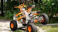 能越野的四轮电动车, 创新悬架设计, 翻山越岭如履平地