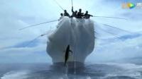 出海捕鱼: 几百个鱼竿一起上, 这速度比捞鱼还要快