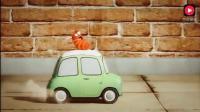 搞笑虫子—虫子们飙车, 一不小心飙过头了, 这下惨了吧!