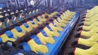 实拍, 工地搬砖用的白手套是怎么制造的