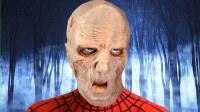 蜘蛛侠和丧尸在室内进行搏斗 搞笑蜘蛛侠来了