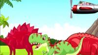 侏罗纪世界恐龙世界07 恐龙玩具视频 恐龙总动员 恐龙当家 霸王龙恐龙动画片77