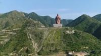 两座中国最壮观的雕像, 一座建于唐代, 一座现代制造