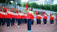 2017襄阳五中高一广播操比赛