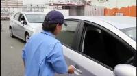 女司机倒车入库神技术, 驾龄十年的老司机都不一定比得上!