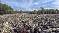 """俄罗斯有一条""""石头河"""" 能听见流水声"""