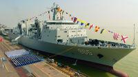 终于完整了!中国航母编队的超级奶妈正式上岗