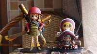 [玩具废柴]经典老物01 海贼王 DXF组立 乔巴 娜美 伟大航路的孩子系列