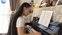 高雅气质女孩冯卓尔演奏《上海滩》- 2017 经典钢琴曲