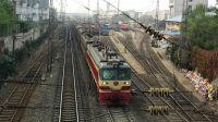 火车视频-陇海线:初访面皮站