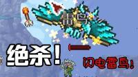 【逍遥小枫】风暴之剑! 强杀闪电雷鸟! | 泰拉瑞亚模组生存#2