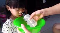 乖宝宝示范魔术式洗鼻法, 过敏性鼻炎和感冒鼻塞都有效