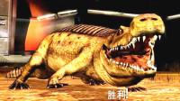 侏罗纪世界游戏 恐龙战争 第104期 帝鳄以一敌二扭转乾坤 反败为胜 陌上千雨