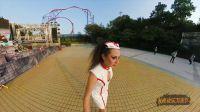 美女自拍长隆万圣节鬼怪大片-Insta360 ONE全景相机