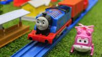 托马斯小火车 托马斯和他的朋友们系列小游戏 收集小麦农场09【游乐园】