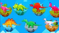 侏罗纪总动员 探索恐龙世界 第三期 恐龙骨骼化石挖掘 恐龙时代 陌上千雨