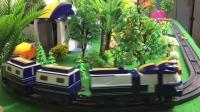 动感小火车铁甲 小猪佩奇托马斯小火车轨道车