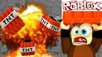 【Roblox炸弹TNT逃生】疯狂走位赢得第一! 乐高TNT爆炸灾难生存! 小格解说