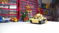陆战之王大对比第一篇: 开智积木二战系列德军三号坦克G型