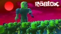 【Roblox丧尸城镇模拟器】千万富豪称霸地图! 腥红之月巨型僵尸! 小格解说 乐高小游戏