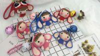 【汤小仙手作】第3集 史迪仔变装玩偶编织教程-上 钩针毛线编织视频教程