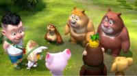 熊出没之熊熊乐园 熊出没雪岭熊风夺宝熊兵丛林总动员熊大吉吉对战赛筱白解说