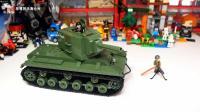 口径即正义, 152神教的荣光: COBI积木坦克世界系列KV2坦克搭建