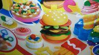 小猪佩奇玩具 36:美国创意食玩之美味汉堡套餐手工DIY制作! 日本食玩之迷你汉堡薯条套餐 扮家家颜色学习亲子互动 北美玩具 橡皮泥粘土做冰淇淋甜点手工