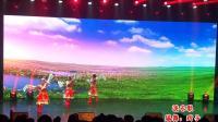 《洗衣歌》藏族舞舞台版9人队形变换, 演唱: 索朗旺姆