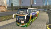 从深圳开大巴车去往福州, 全程高速沿海公路, 欧卡2中国地图