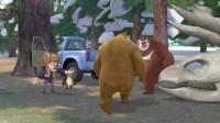 熊出没之熊熊乐园 熊出没雪岭熊风夺宝熊兵丛林总动员熊大熊二光头强骑大象筱白解说