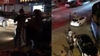 男子醉驾殴打外卖小哥 遭路人持械砸头