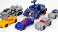 变形金刚机器人 随时变形状 合体战争 编辑声波 飞天虎汽车机器人玩具 【俊和他的玩具们