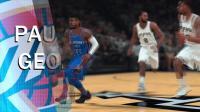 【小发糕解说】NBA2K18雷霆经理生涯(名人堂)第二期: 雷霆大战马刺