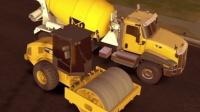 【亮哥】建筑模拟器2#19: 新家任务1 压路机 混凝土搅拌机★玩具工程车游戏