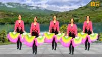 简单好学的健身扇子舞广场舞《吉祥中国年》