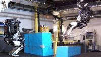 波士顿动力新版机器人get后空翻技能