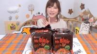 木下大胃王: 观众寄来的超辣韩国泡面8包, 泡菜口味的哦