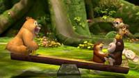 熊出没之熊熊乐园 熊出没雪岭熊风夺宝熊兵丛林总动员熊大熊二毒花筱白解说