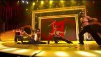 中华武术在美国达人秀的表演让老外疯狂, 全场掌声雷动