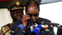 津巴布韦总统穆加贝同意下台